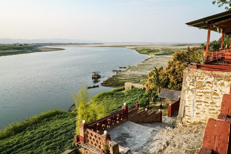 River view, Bagan, Myanmar.
