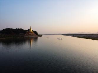 Irrawady river, Bagan, Myanmar.