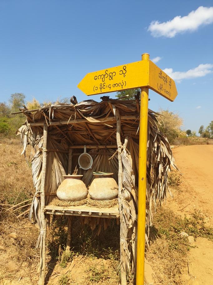 Free water deposit, Myanmar.