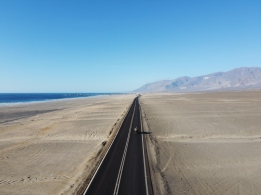 The Pacific road, between Antofagasta and Iquique, Chile.