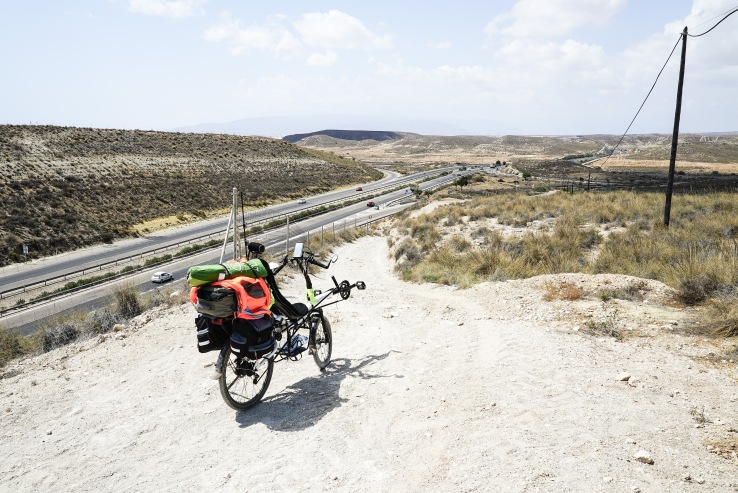 Following google maps advice to avoid the highway. Near Almeria, Spain.
