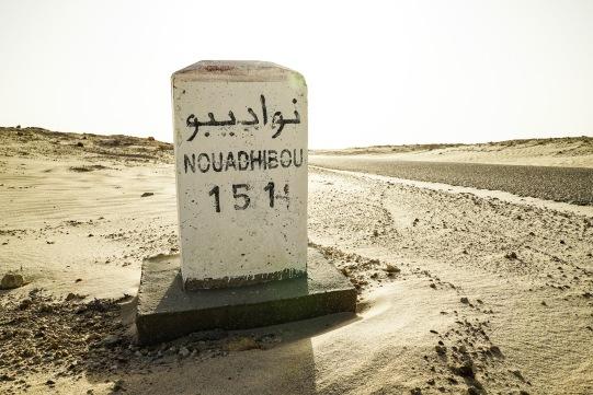 Approaching Mauritania. Near Bir Gandouz.