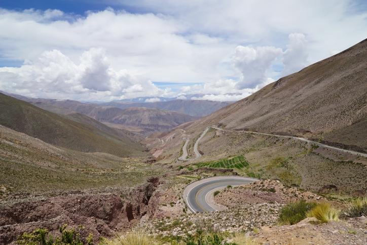 The Cuesta de Lipan. Argentina.
